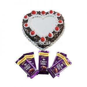 Black Forest With Dairy Milk Chocolate