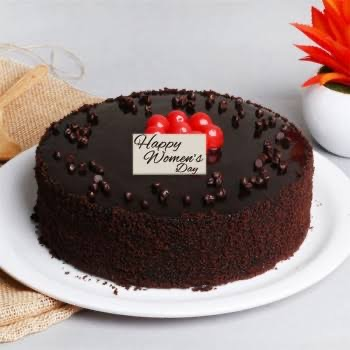brownie cake for women's day