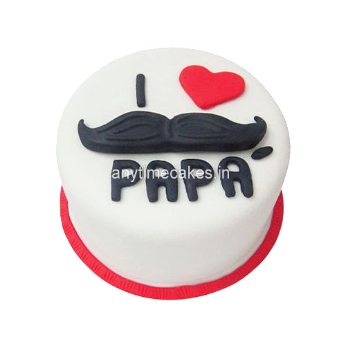 fondant cake for papa on fathers day