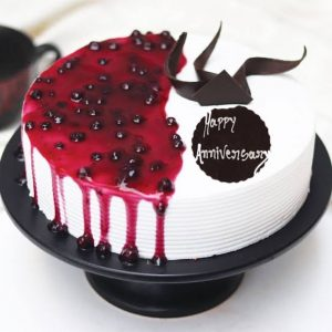 blueberry cake for anniversary