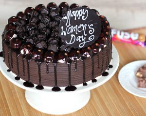 happy mothers day chocolate shots cake