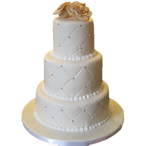3 tier cake for anniversary